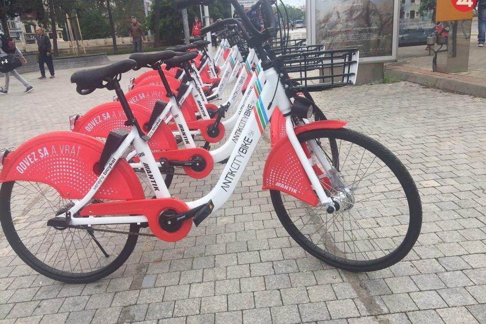 3dc5745ca Ilustračný obrázok k článku Už si môžete požičať bicykle ako v mnohých  mestách na svete.